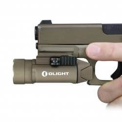 Olight Valkyrie PL-2 Tan FDE LIMITED EDITION , 1200 lumen, 235m Throw