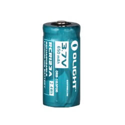 Olight 16340 / RCR123 650mAh Battery