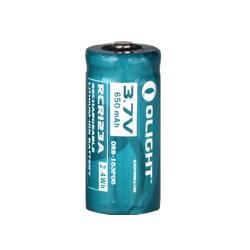Olight 16340 / RCR123 650mAh Battery