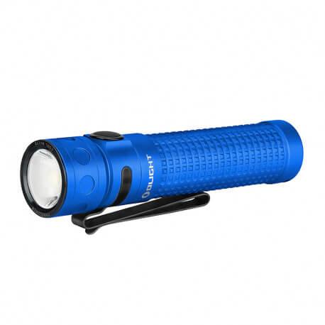 Olight Baton Pro Blue, 2000 Lumen, 132m throw, rechargeable - Limited