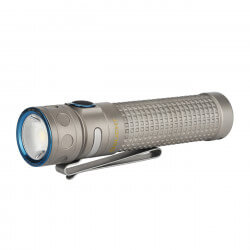 Olight Baton Pro Ti, 2000 Lumen, 132m throw, rechargeable