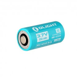 Olight 16340 550mAh 5C High Drain Battery